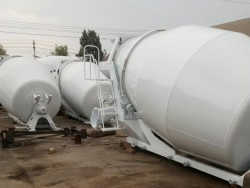 8m3 Concrete Mixer Truck Drum Mixing Canister
