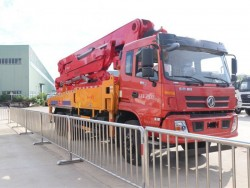 china 6x4 35m Concrete Pump Truck