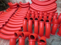truck mounted concrete pump pipe elbow