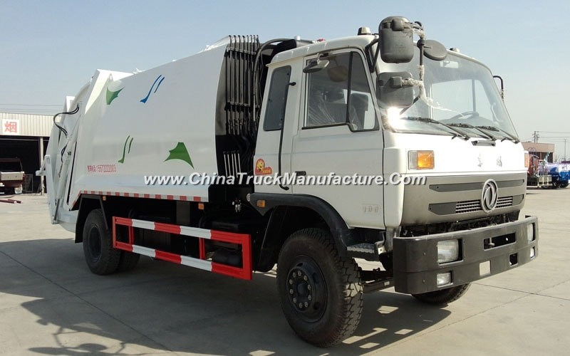 China 6 wheel 8 ton Garbage Compactor Truck