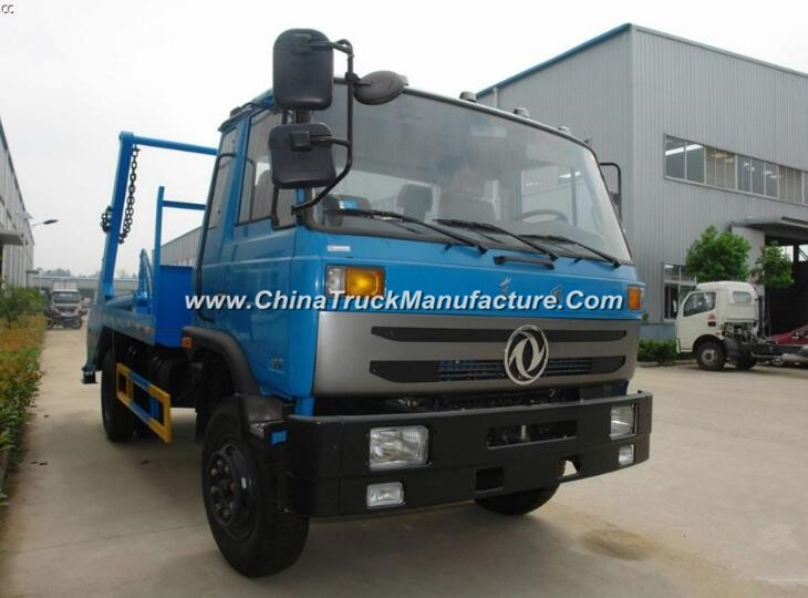 China 4 wheel 8 ton Swing Arm Garbage Truck