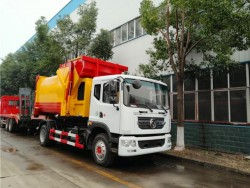 China 4x2 10 ton am roll garbage compactor truck