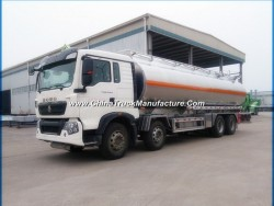 HOWO 8X4 Aluminum Alloy 35000L Gasoline/Oil/Fuel Tank Truck