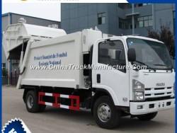 Isuzu Mini 4*2 Garbage Compactor Truck