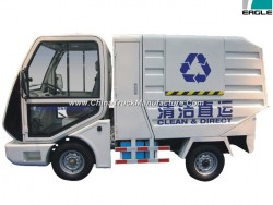 Electric Garbage Truck with 2 Seats, CE Certificate (EG6022X)