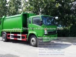 HOWO 8cbm Waste Compactors, Compress Garbage Truck