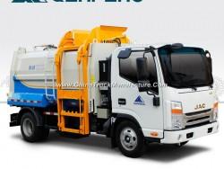 Garbage Bin Collecting Truck