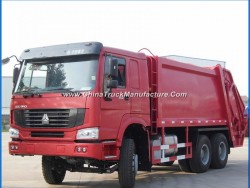 Used HOWO 16m3 16 Cubic Meters Waste Collection Trucks on Sale
