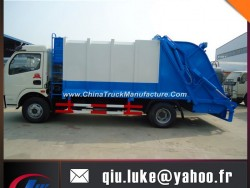 9 Cubic Meter Waste Compactor Truck