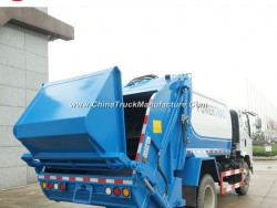 HOWO 4X2 10m3 Small Garbage Truck Compactor Garbage Truck Price