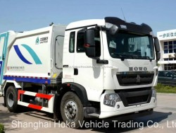 Sinotruck HOWO 10-18 M3 Garbage Truck Refuse Truck for Sale