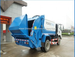 HOWO 12m3 Garbage Compression Refuse Compactor Truck