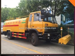 9m3 Road Sweeper Tank Truck High Pressure Cleaning Truck