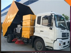 Good Quality 9000L Road Vacuum Cleaning Sweeper Truck