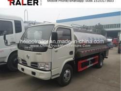4000liters 4X2 Small Milk Transport Tank Truck