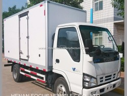 Hot Sale Refrigeration Cooling Freezer Diesel Truck with Refrigerated Unit