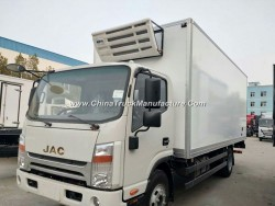 JAC Refrigerator Cooling Van, Mobile Cold Room, Refrigerated Truck 5tons for Sale