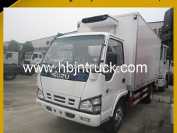 3 Ton Isuzu Refrigerated Truck with Carrier Refrigerated Unit