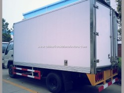 China 5t Insulated Reefer Frozen Refrigerated Truck with Sanwich Panel Box