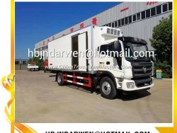 High-Quality Foton 10-15ton Thermo King Refrigerated Truck