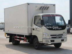 High Quality 2 Axles Refrigerated Transport Van Truck for Sale
