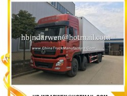 8*4 Dongfeng 30ton Refrigerated Truck Price