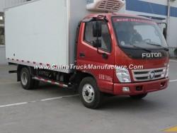 Rhd /LHD Forland 4X2 5tons Refrigerator Freezer Van Refrigerated Truck