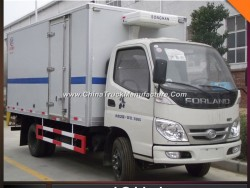 Foton 5ton 6ton 8ton Insulated Reefer Freezer Truck