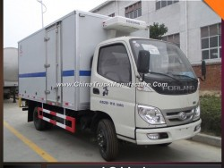 Forland 4mt Cooling Truck Freezer Meat Transportation Truck