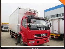 China Make 5-7ton Insulated Van Truck Body Refrigeator Van Truck