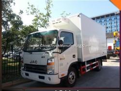 JAC Light 5mt 5m3 Insulated Box Truck Frozen Meat Freezer Truck