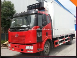 -18degree FAW J6 60m3 12ton Freezer Ice Cream Van Truck