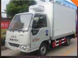 JAC Mini Size 1t Container Freezer Refrigerator Van Truck