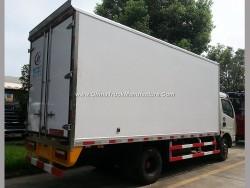 /-5 Temperature 8t Freezer Cold Store Van Truck for Ice Cream Transportation