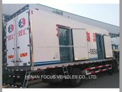 8mt Chicken Cold Store Box Lorry Truck Cold Van Refrigerator Truck
