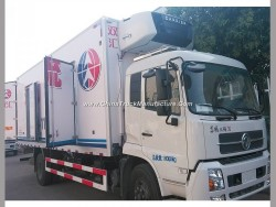 Foton 5mt 6mt 8mt Isulated Cold Freezer Meat Chicken Transportation Truck