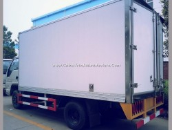 Light Duty 5 Ton Cooling Van, Freezer Box Truck for Meat Fish Milk Fruit Transportation