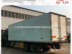 Refrigerator Food Storage Van Truck with ABS Braking System