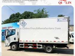 Refrigerator Box Truck for Meat and Fish Transport