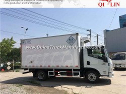 4X2 Van Camion Frigorifico Side Open Door