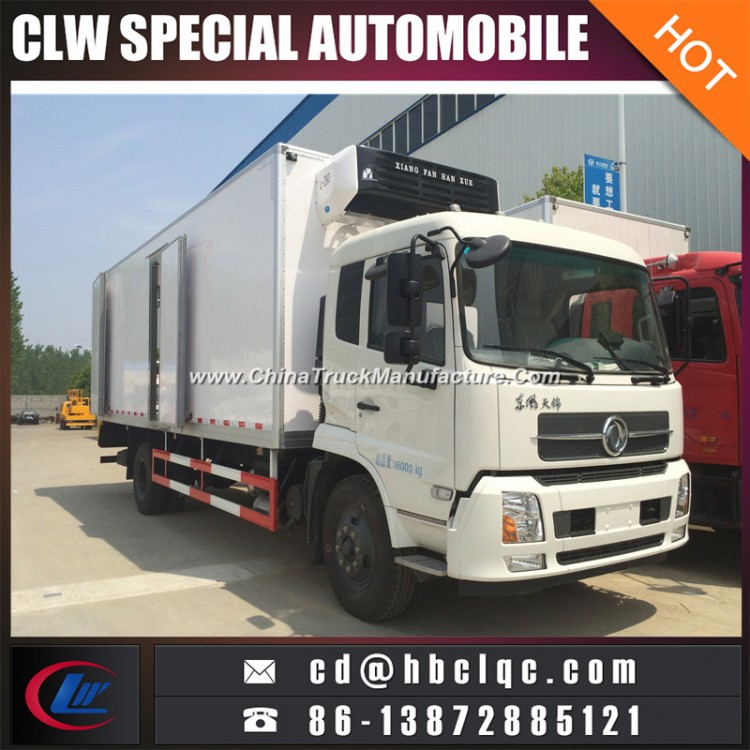 Factory Sales 4X2 170HP Cold Container Truck Freezer Car