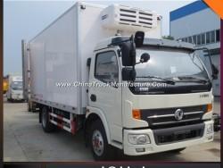 Low Price Dongfeng 8t Refrigeator Van Truck Insulated Van Truck Body