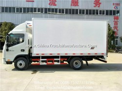 5 Ton Large Capacity Dongfeng 4X2 190HP Refrigerator Truck Temperature Controlled Truck/Refrigerated
