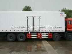8*4 Big Capacity Seafood Freezer Trucks 32 Ton Refrigerator Wagon