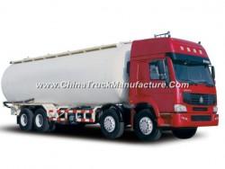 HOWO 8*4 Heavy Duty Bulk Cement Tanker Truck