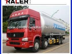 HOWO 8X4 Bulk Cement Truck 40m3 Bulk Tanker Truck