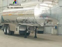 Liquid Fuel Water Storage Transport Tanker Truck Semi Stainless Steel Tank