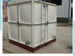 Square Sectional Fiberglass GRP SMC FRP Panel Water Storage Tank