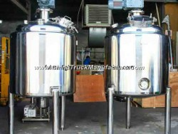 Verticle Water/Dairy/Beer Cooling Tank