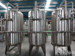 Stainless Steel Water Treatment Tank